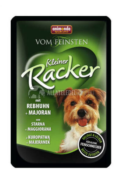 Animonda - Vom Feinst Racker Fogoly & Majoranna alutasakos kutyáknak 85g