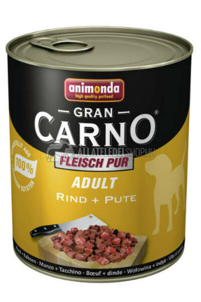 Animonda - Grancarno Adult Marha & Pulyka kutyakonzerv 800g