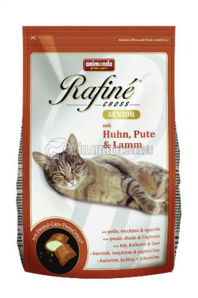 Animonda macskaeledel -  Rafine Cross Senior Csirke - Pulyka-Bárány macskatáp 1,5kg