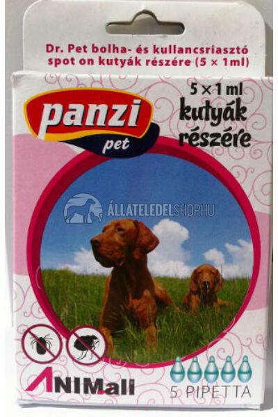 Panzi Dr.Pet spot on bolhariasztó csepp kutya