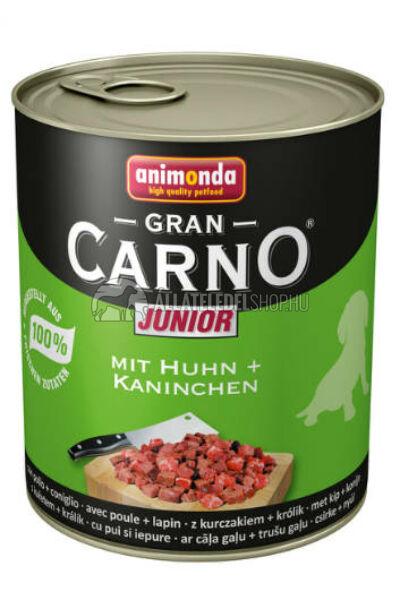 Animonda - Grancarno Junior Nyúl kutyakonzerv 800g