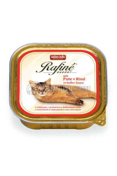 Animonda - Rafine Ragout Pulyka & Marha alutasakos macskáknak 100g