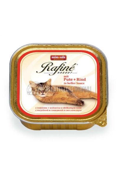Animonda macskaeledel - Rafine Ragout Pulyka & Marha alutasakos macskáknak 100g