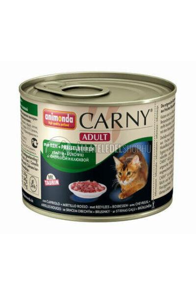 Animonda macskaeledel - Carny Adult Szarvashús macskakonzerv 200g