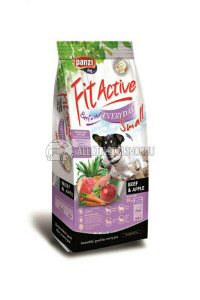 FitActive - Dog Premium Small Everyday Marha & Alma kutyatáp 4kg