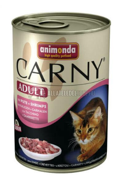 Animonda - Carny Adult Pulyka & Rák macskakonzerv 400g