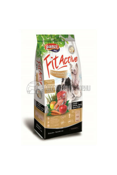 FitActive - Dog Premium Small Halas hypoallergén kutyatáp 4kg
