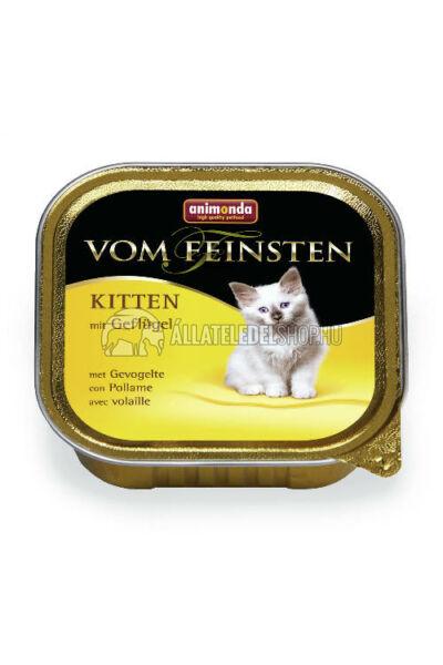 Animonda macskaeledel - Vom Feinsten Kitten Baromfi alutasakos macskáknak 100g