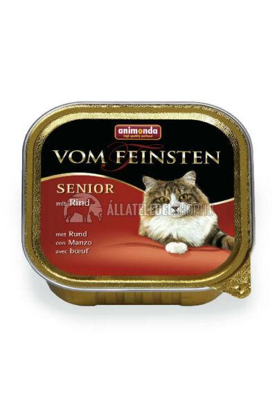 Animonda macskaeledel - Vom Feinsten Senior Marha alutasakos macskáknak 100g