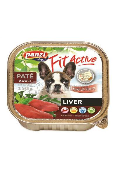 FitActive - Dog Májas kutyakonzerv 150g