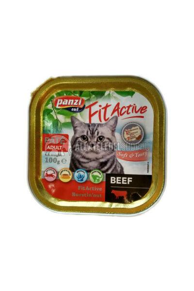 FitActive macskaeledel - Cat Marhás macskakonzerv 100g
