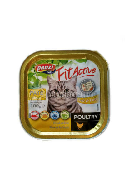 FitActive - Cat Csirkés macskakonzerv 100g
