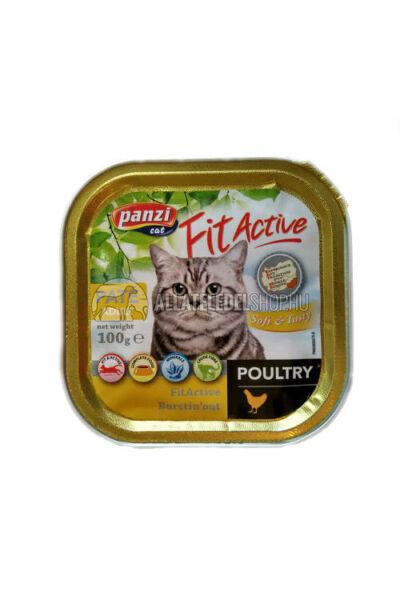 FitActive macskaeledel - Cat Csirkés macskakonzerv 100g