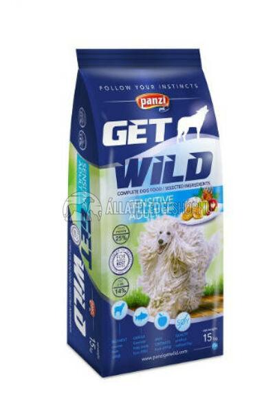 Kutyatáp - Panzi Getwild Adult Sensitive Lamg 15KG