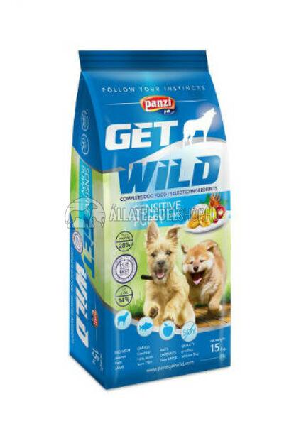 GetWild - PUPPY Sensitive Bárány kutyatáp 15kg
