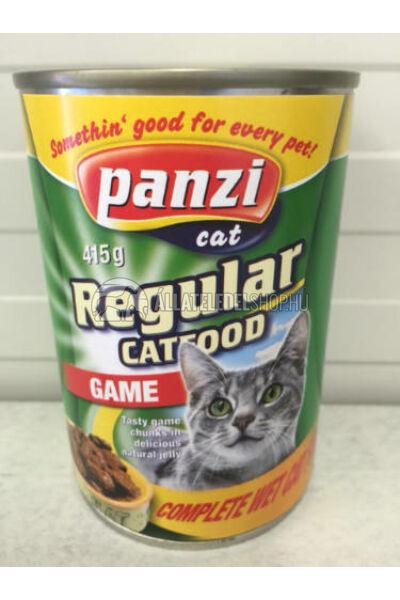 Panzi macskaeledel - Cat Vadhúsos macskakonzerv 415g