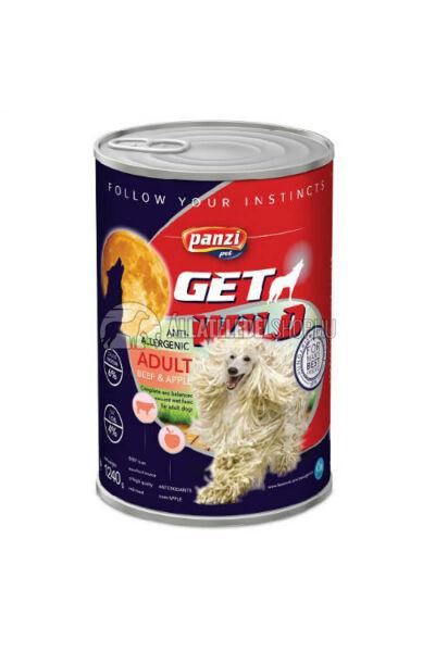 GetWild - Adult Marha & Alma kutyakonzerv 1240g