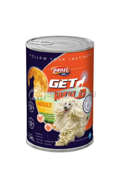 GetWild - Adult Csirke & Alma kutyakonzerv 1240g
