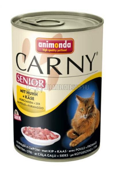 Animonda - Carny Senior Csirke & Sajt macskakonzerv 400g