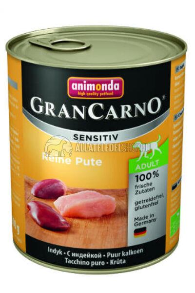 Animonda - Grancarno Sensitiv Pulyka kutyakonzerv 800g