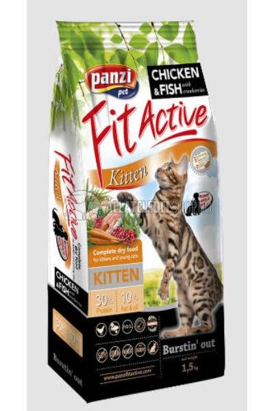 FitActive macskaeledel - Cat Kitten macskatáp 1,5kg