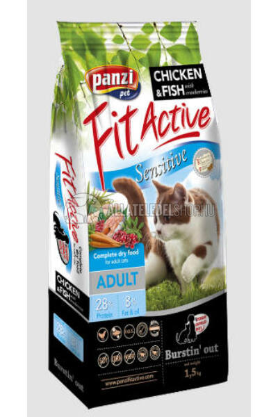 FitActive - Cat Sensitive macskatáp 1,5kg