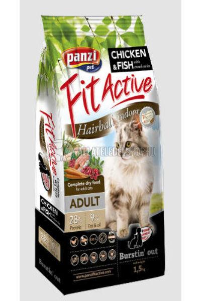 FitActive - Cat Hairball macskatáp 1,5kg