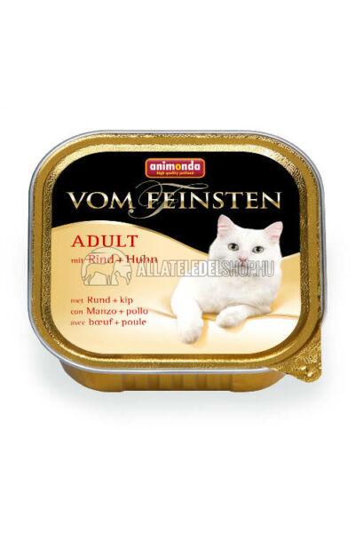 Animonda macskaeledel - Vom Feinsten Marha & Csirke alutasakos macskáknak 100g