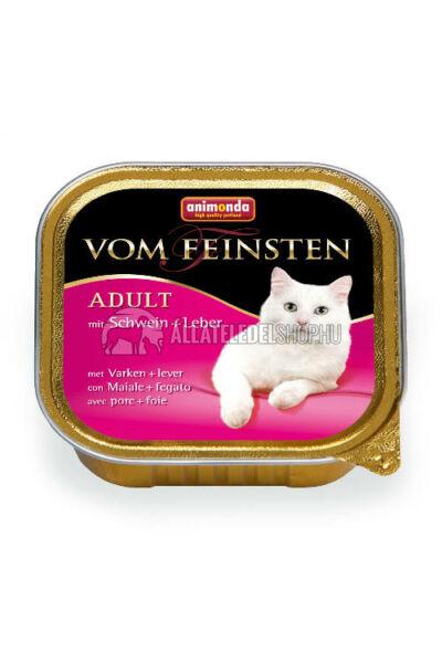 Animonda macskaeledel - Vom Feinsten Sertés & Máj alutasakos macskáknak 100g