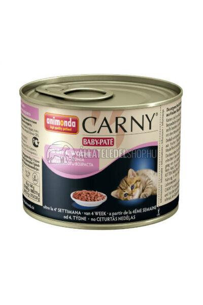 Animonda macskaeledel - Carny Kitten Baby Paté 200g