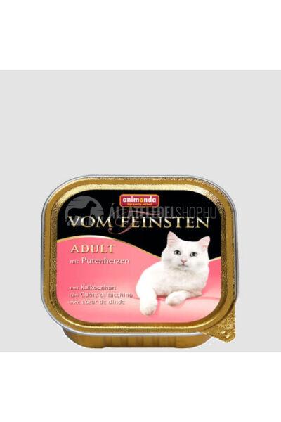 Animonda macskaeledel - Vom Feinsten Adult Pulykaszív alutasakos macskáknak 100g