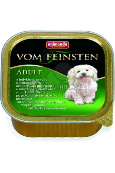 Animonda - Vom Feinsten Adult Pulyka & Gomba alutasakos kutyáknak 150g