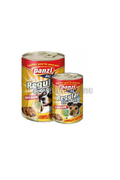 Panzi - Dog Regular Csirkés kutyakonzerv 1240g
