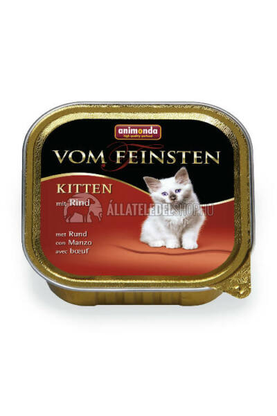 Animonda - Vom Feinsten Kitten Marha alutasakos macskáknak 100g