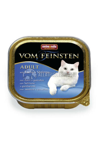 Animonda - Vom Feinsten Adult Lazac & Garnéla alutasakos macskáknak 100g
