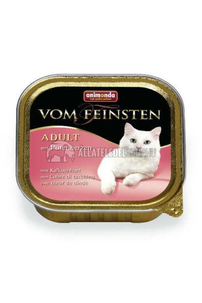 Animonda macskaeledel - Vom Feinsten Classic Pulykaszív alutasakos macskáknak 100g