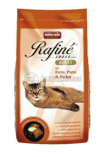 Animonda macskaeledel -  Rafine Cross Adult Kacsa - Pulyka - Csirke  macskatáp 400g