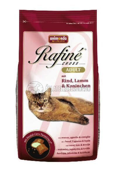 Animonda macskaeledel -  Rafine Cross Adult Marha - Bárány - Nyúl  macskatáp 400g
