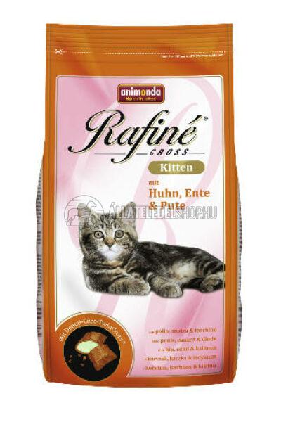 Animonda macskaeledel -  Rafine Cross Kitten Csirke - Kacsa - Pulyka  macskatáp 400g