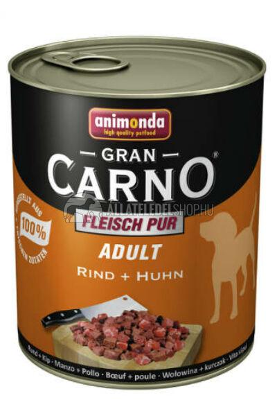 Animonda - Grancarno Adult Marha & Szárnyas kutyakonzerv 800g