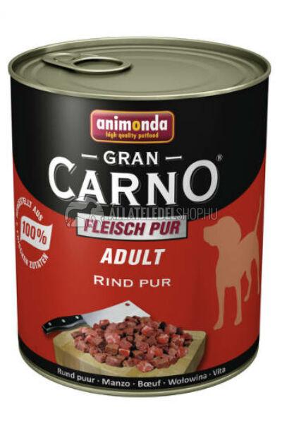 Kutyatáp - Animonda Grancarno Adult Beef 800G