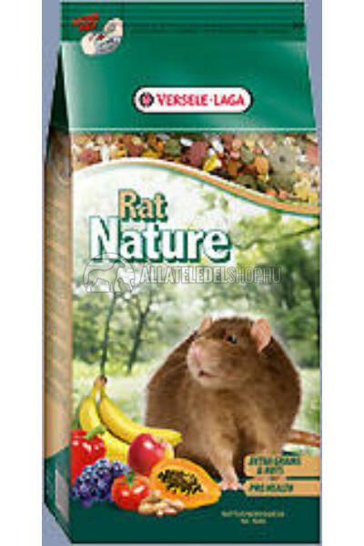 Versele-Laga - Nature Rat - Keverék Patkányoknak gyümölcsel 750g