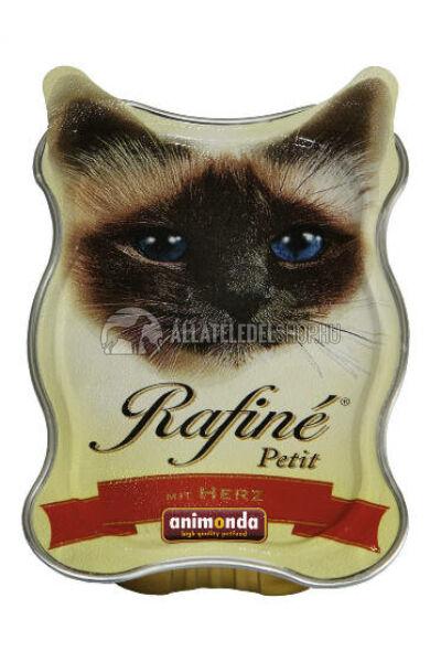 Animonda macskaeledel - Rafine Petit Szív  alutasakos macskáknak 85g
