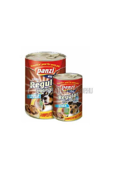 Panzi - Dog Regular Májas kutyakonzerv 1240g