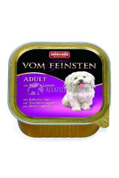 Animonda - Vom Feinsten Adult Pulyka & Bárány alutasakos kutyáknak 150g