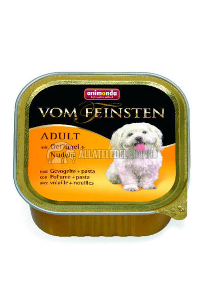Animonda - Vom Feinsten Adult Szárnyas & Tészta alutasakos kutyáknak 150g