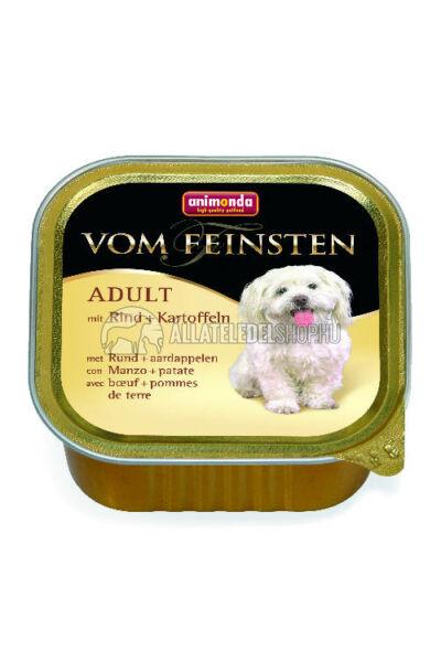 Animonda - Vom Feinsten Adult Marha & Burgonya alutasakos kutyáknak 150g
