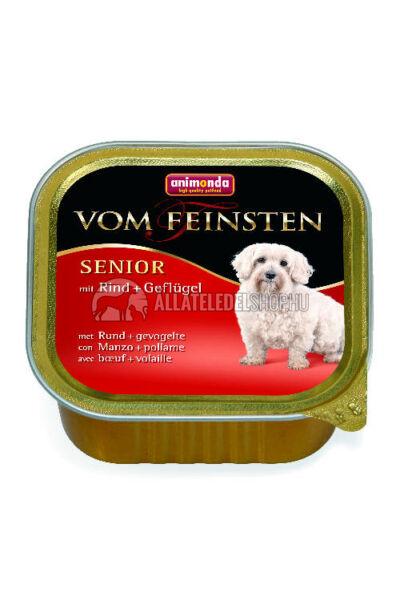 Animonda - Vom Feinsten Senior Marha & Baromfi alutasakos kutyáknak 150g
