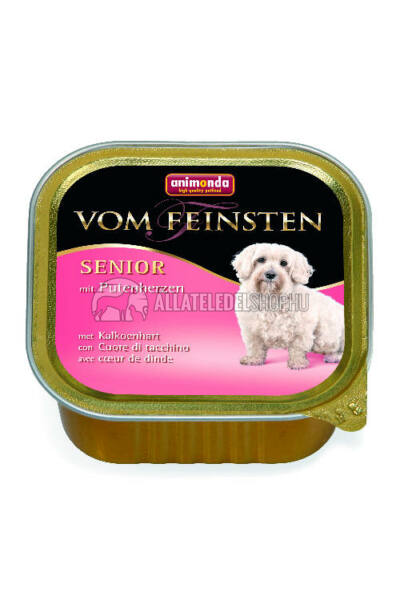 Animonda - Vom Feinsten Senior Pukykaszív alutasakos kutyáknak 150g