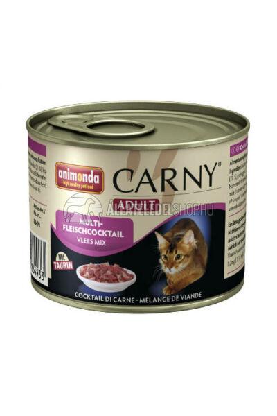 Animonda macskaeledel - Carny Adult Multihús macskakonzerv 200g